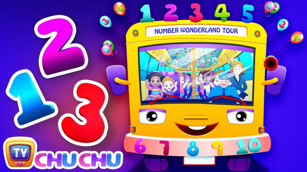 ChuChu TV Numbers Song - Learn to Count from 1 to 20 | Number Rhymes For Children