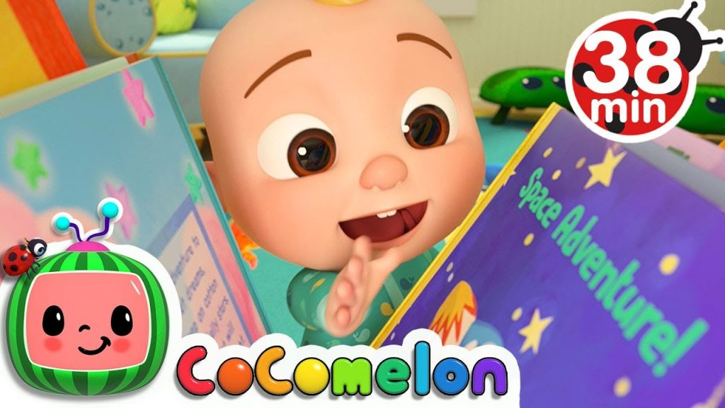 Reading Song + More Nursery Rhymes & Kids Songs - CoComelon