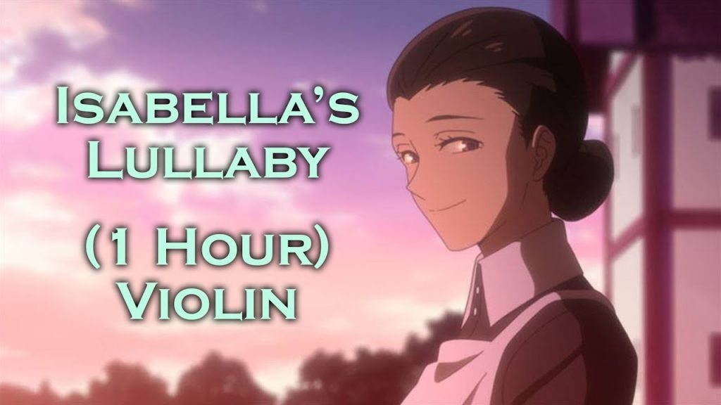 Isabella's Lullaby 1 Hour Violin (The Promised Neverland OST) Anime Music for Study Sleep Relaxation